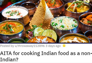 indian food thali | Posted by uthrowaway112896 3 days ago Aita for cooking Indian food as a non Indian?