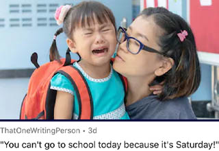 """<strong><a href=""""https://www.ebaumsworld.com/pictures/15-parenting-memes-that-are-on-fleek/86098239/"""" target=""""_blank"""">Parenting</a></strong> is a wild ride.  <br></br>There are days where I think """"You know, kids sound pretty cute, it might be fun to have a little miniature version of me/my wife running around.""""  <br></br>Then I remember how expensive kids are, how noisy they can be, and how much they can exhaust your patience when they do things like you see below."""