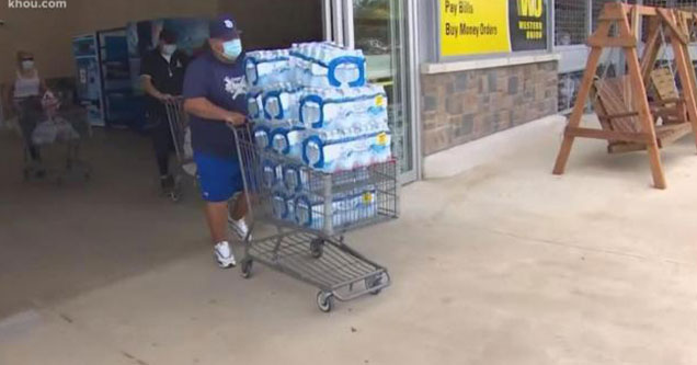 people in Texas stock up on water after brain eating amoeba found in lake jackson