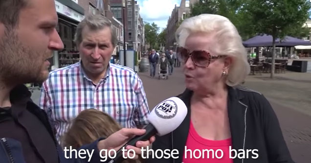 homophobic dutch couple shocked their daughter isn't also a pos