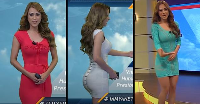 mexican weather woman yanet garcia