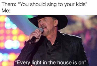 trace adkins every light in the house - Them