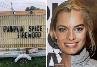 pumpkin spice firewood - jamie presley next to margot robie