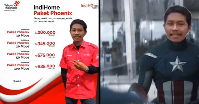 IndiHome Paket Phoenix / Streamix | indihome ad rickroll