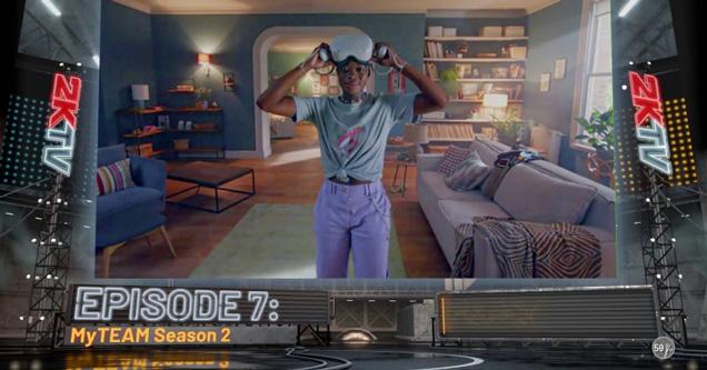 nba2k1 ads basketball video game | episode 7 my team season 2