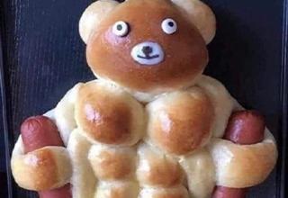funny bear wiener