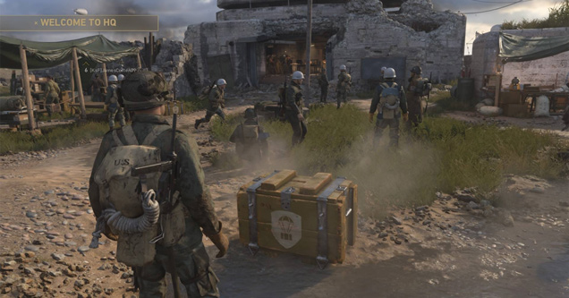 call of duty ww2 loot boxes microtransaction