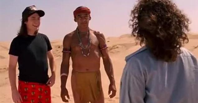 wayne's world 2 desert hallucination scene