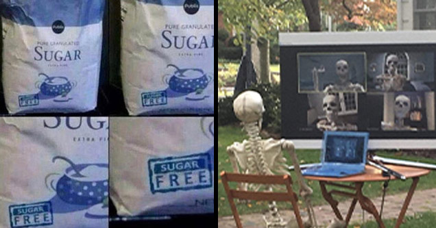 funny memes | sugar free meme - Pure Granulate Patid Sugai Sugar Re Dug Sugar Free Sugak Free Solas | skeleton zoom meme