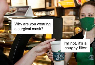 "Wake up laughing with some coffee memes. People who work at Starbucks are pretty cringe, but they have their own memes. Which is expected and kinda cool. Enjoy  some <a href=""https://www.ebaumsworld.com/pictures/39-some-quality-halloween-costumes/86423314/""><strong>funny memes</strong></a> about coffee!"