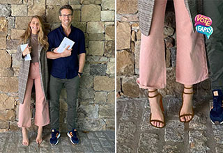 "The internet can't stop talking about American actress Blake Lively's feet. It was her Canadian-born husband <a href=""https://www.ebaumsworld.com/pictures/ryan-reynolds-congratulates-wife-blake-lively-on-her-birthday-by-posting-the-worst-pics-of-her/86050401/""><strong>Ryan Reynolds'</strong></a> first time voting in America, so she posted a snap of both of them after the big moment on Instagram. It should have been Ryan's time to shine in the spotlight, but Blake took all the glory as people noticed that her shoe looked to be <a href=""https://www.ebaumsworld.com/pictures/23-trolls-from-the-photoshop-master/85800366/""><strong>photoshopped</strong></a>."