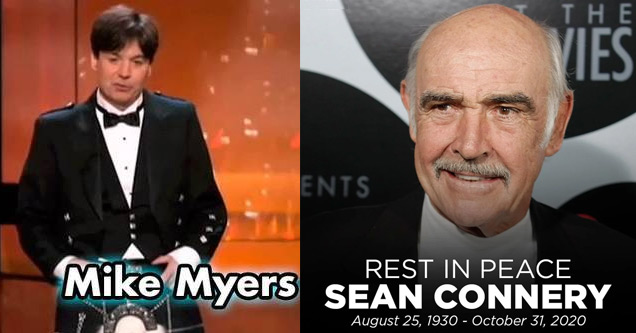 mike meyers and sean Connery