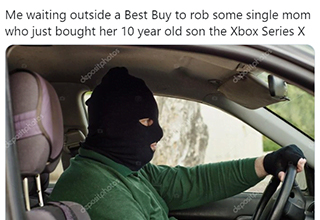 "<a href=""https://gaming.ebaumsworld.com/pictures/the-best-xbox-series-x-memes-about-the-now-delayed-console/86444506/""><strong>Xbox Series X</strong></a> was released today. Unfortunately the demand is so high and the supply is low, not everyone is able to get in on the fun on day one. Here are some memes and reactions that gamers are posting about not being able to get their Xbox in time."