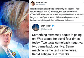 "Elon Musk is like if a really smart dude was also really dumb. I won't take the credit, but I did call Elon Musk, <a href=""https://www.ebaumsworld.com/pictures/elon-musk-wants-you-to-take-the-red-pill/86273136/""><strong>Space Karen</strong></a> back in May, after he Tweeted, ""take the Red Pill"". This time he seems to have really earned the title. Despite having a successful launch just this past weekend, the Tesla CEO and Billionaire cool-boy is someone Twitter love to dunk on."