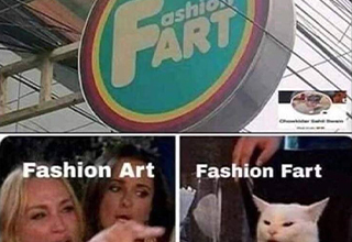 fart fashion art