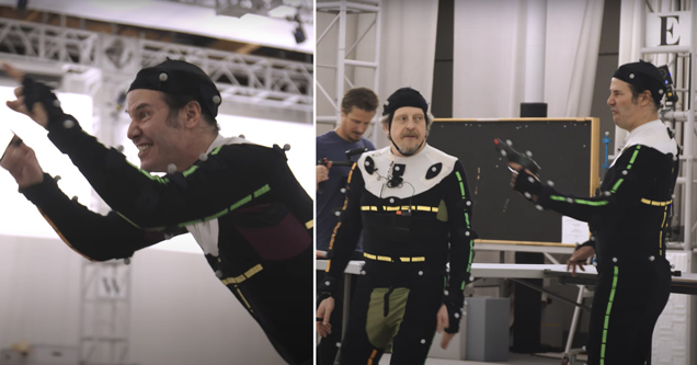 keanu reeves motion capture suit acting cyberpunk 2077 video game