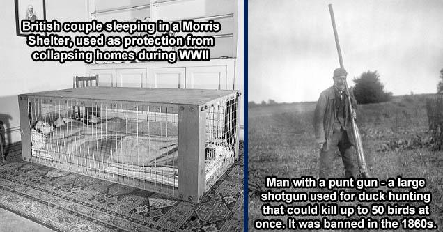 air raid shelters ww2 - 22 Veg - A British Couple Sleeps Inside A