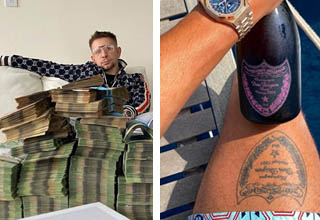 "It's so cringey how desperate these kids are to flex. <br></br>Clearly, these douchey <strong><a href=""https://www.ebaumsworld.com/pictures/the-rich-kids-of-instagram-flaunt-their-extravagant-lifestyles/85965827/"" target=""_blank"">rich kids of Instagram</a></strong> haven't heard of the phrase ""Money talks, wealth whispers."" Here they are, wearing brand-name clothing that absolutely WILL NOT let you forget what brand it is, flashing piles of cash that may or may not be real. It's almost sad."
