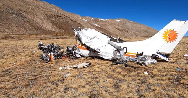 Путешественник из Колорадо наткнулся на обломки авиакатастрофы