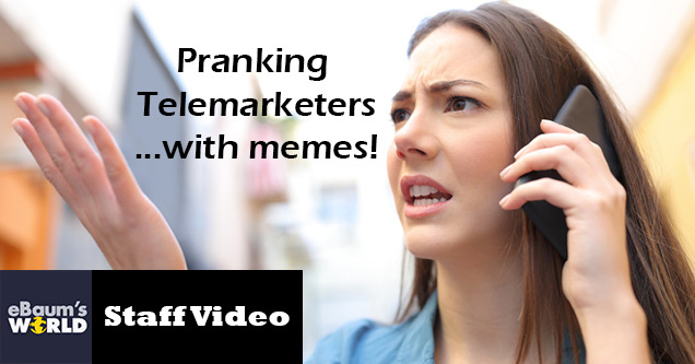 Распространение спама на телефонных мошенников с помощью мемов