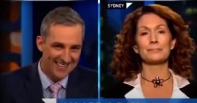 news anchor has an awkward slip of the tongue