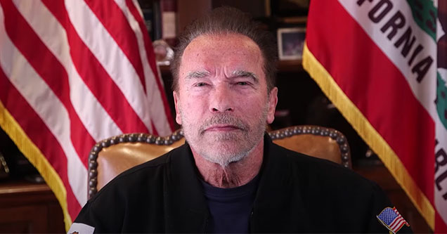 Governor Schwarzenegger has a powerful message to America