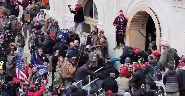 Trump's mob storms the capitol and beats officer Brian Sicknick to death