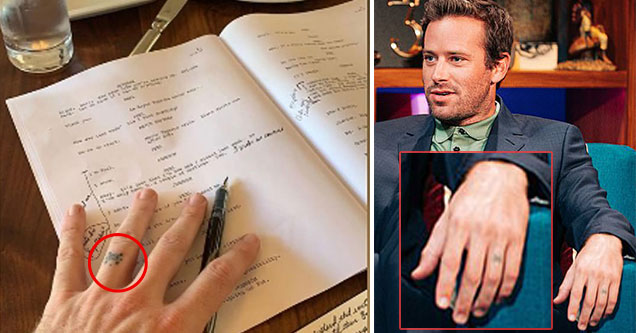 Armie Hammer's alleged DMs have been leaked on Instagram
