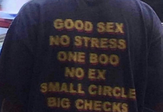 good sex no stress one boo no ex