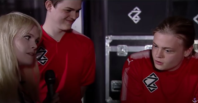 esports gamer NHS gets roasted by female interviewer after trying to be a cool guy