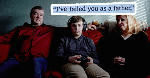 new york times article about kids playing video games - I've failed you as a father