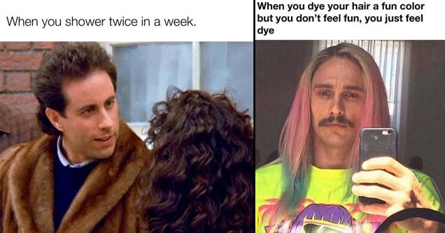 30 смешных мемов для взрослых не про секс