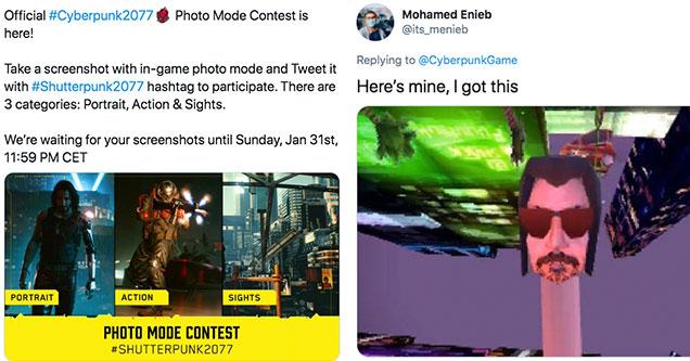 Конкурс скриншотов #Shutterpunk от фанатов Troll CD Project Red
