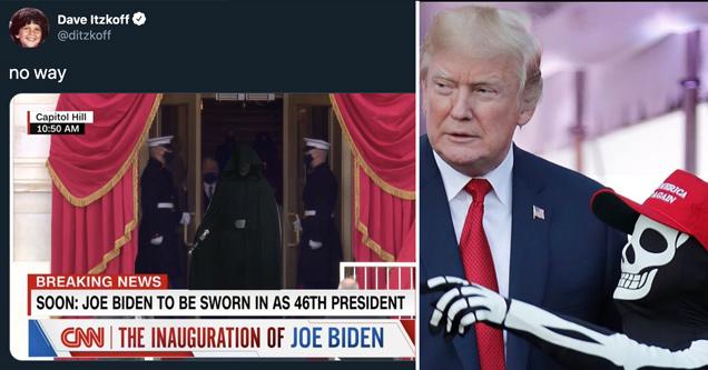 25 последних шуток над Дональдом Трампом во время присяги Джо Байдена
