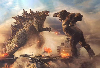 "In 20 years, Godzilla will be the size of Rhode Island and King Kong, the size of NYC.<br><br> <a href=""https://www.ebaumsworld.com/pictures/29-comparisons-prove-hollywood-tried-to-release-the-exact-same-movies/86248338/""><strong>Hollywood</strong></a> has been looking for its <a href=""https://www.ebaumsworld.com/pictures/guy-proves-hollywood-isnt-very-creative-with-their-posters/86179282/""><strong>creativity</strong></a> for years, and because of it, we get another big monster bash, and another one, and so on into infinity."