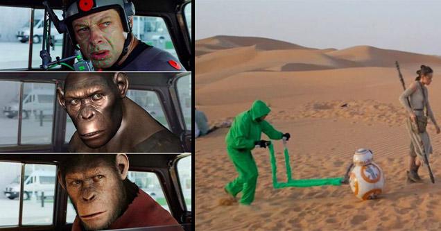 25 кадров CGI за кадром в фильмах