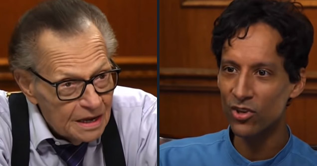 larry king and danny pudi