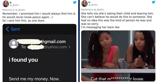 Lady Ruins Scammer's Life After He Refuses to Pay Her Back