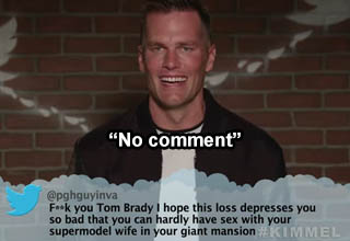 Mean Tweets superbowl LV edition with Tom Brady