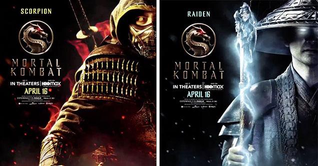 Выпущены новые постеры фильмов о Mortal Kombat Character