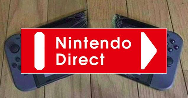 Nintendo Direct Memes, объявления и реакции