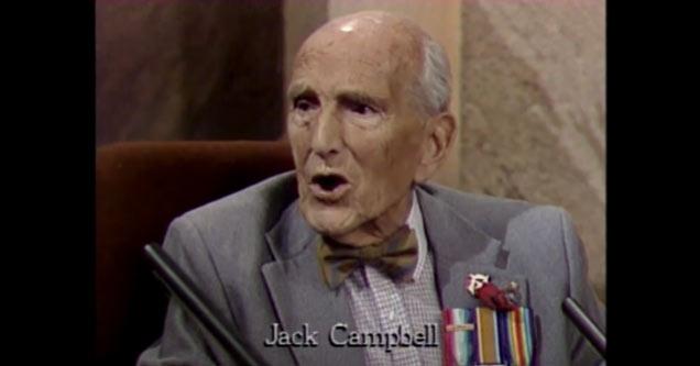 93-летний ирландский ветеран описывает первую мировую войну (1988)