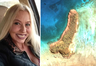 "A Michigan woman named Joleen Vultaggio discovered an island off the coast of New Caledonia in the South Pacific Ocean that's shaped exactly like <strong><a href=""https://www.ebaumsworld.com/pictures/penis-shadows-seem-to-be-popping-up-everywhere/85046393/"">male genitalia</a></strong>. </br> </br> The sandy dong mass is approximately 500 meters long and until now had not widely been known about. Joleen apparently found the island while randomly browsing <strong><A href=""https://www.ebaumsworld.com/videos/guy-solves-22-year-missing-persons-case-using-google-maps/86545603/"">Google Earth</a></strong>, which she does as a hobby. </br> </br> If you want to see for yourself, here's a link to the direct coordinates of <strong><a href=""https://www.google.com/maps/place/20%C2%B037'37.0%22S+166%C2%B018'02.0%22E/@-20.6266783,166.3031842,1082m/data=!3m1!1e3!4m5!3m4!1s0x0:0x0!8m2!3d-20.6269444!4d166.3005556"" target=""_blank"">Dick Island</a></strong>."