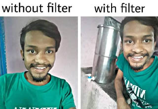 head - without filter with filter Avenu