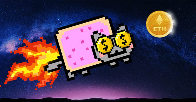 Popular meme and now NFT nyan cat sold for over 600k