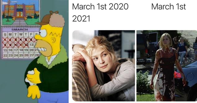 22 смешных марта 2020 года и мемов марта 2021 года