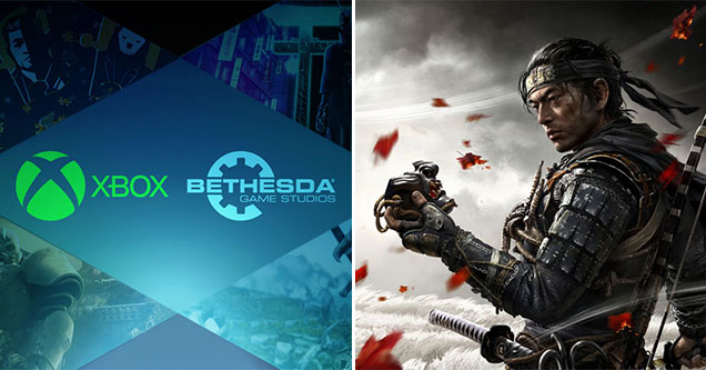 ICYMI - gaming news round up -  Microsoft bought Bethesda - Ghosts of Tsushima developers given ambassador status by Japan