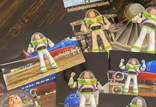 """A young boy who lost one of his favorite toys while traveling got a surpise package in the mail recently.  It was his missing Buzz Lightyear toy complete with an update about his """"mission"""" and his travels."""