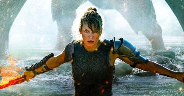 ten great video game movie adaptations -  Milla Jovovich in Monster Hunter