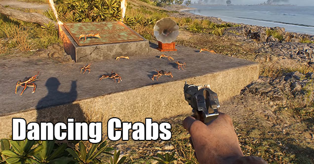 hard to find video game secrets - Dancing Crabs in Battlefield V